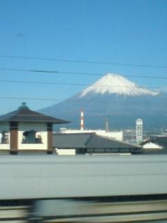新幹線より。